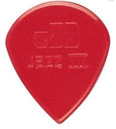 72 piece Guitar Picks Jim Dunlop Jazz III guitar pick in red small Free Shipping