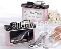 beer shoes - Unique Wedding Favors high heeled shoes design beer bottle opener Practical Favors wedding party gifts for