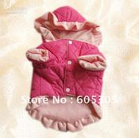 Wholesale Cute Winter Warm Dog Clothes Coat Apparel Size S M L XL XXL