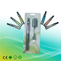 Wholesale Hot EMS EGO CE4 Blister Card Package Kits e cigarette AAAAA Quality Electronic Cigarette Factory Suppl