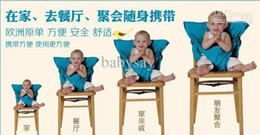 Wholesale Baby sack n seat Baby Eat chair Seat belt kiskise Portable eat chair belt color sack n seat