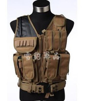 Wholesale The field tactical vest CS Vest Men Black Khaki Army Green