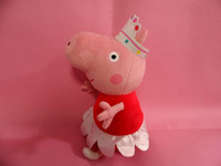 plush peppa pig Ballerina Peppa doll soft toy sets height 30...