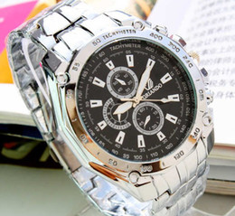 Wholesale Clearance Sale Luxury Men s watch Stainless Steel Watch Band Men Mechanical watches Three six pin round dial