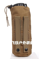Wholesale Bottle package Molle System kettle packs multi function accessory kit mud color