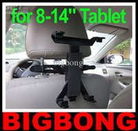 Wholesale For iPad Tablet PC GPS Multi Direction Car Mount Headrest Holder Bracket Clip Universal Free