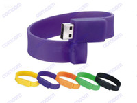 Wholesale GB Wrist strap USB Flash Memory Pen Drive Drives Stick Sticks Disks Discs GB Pendrives Thumbdrives Good N060V