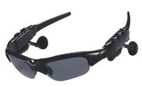 fm bluetooth sunglasses - 2015 New New Arrival None Car Window Film Car Sunglasses with Mp3 Player Bluetooth Fm Radio Headset Sports Sun Glass sample