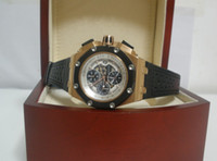 Wholesale Mens Swiss Eta Royal Oak Offshore K Rose Gold Automatic Chronograph Sport Watch Men s Watches