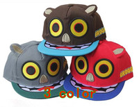 universal big red panda - 2013 Korean fashion Big eyes Panda flat brimmed hat GROGGY embroidery baseball cap Bboy caps