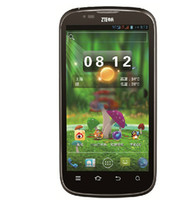 ZTE 4.3 Android Free shipping 1PCS ZTE V970 phone dual-core 1GHz 4.3 screen dual card dual standby Android smartphone