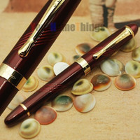 Wholesale Promotion JINHAO High Quality x450 Deep Red Ballpoint Ball point Rollerball Christmas Metal Gift Rol