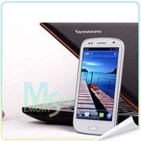 Wholesale Mtk6577 i900 i9377 G phone WCDMA S3 quot Capacitive Screen GPS Wifi Uncocked Android M GB smart Cell phone