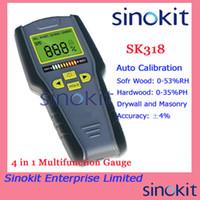 Wholesale New Arrival in inductive Multifunction Gauge Moisture Meter SK318 No probe Need Multifunction Instrument