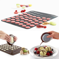 Wholesale Macaroon Baking Mat Cake Decorating Set Muffin Pastry Cookies Sheet