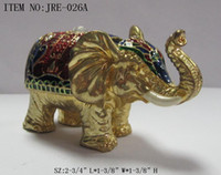 Wholesale Metal jewelry box with animal shape