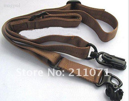 Wholesale Sling Belt Two Point Carry Waist Belt for Tactical Hunting Shooting Coyote Brown