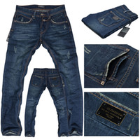 Wholesale Mens Casual Jeans Long Straight Jeans Designer Jeans Loose Jean Long Straight Jean NAa