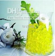 Wholesale 300 packs g pack Magic Plant Crystal Soil Mud Water Beads Pearl ADS Jelly Crystal ball soil H101
