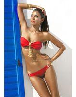 al por mayor encantos de anclaje negro-Venta al por mayor Sexy mujer traje de baño bikini con ancla encanto 5 colores verde rojo blanco negro azul 49091