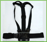 Wholesale GoPro Action Camera Chest Fixture Holding Strap For GoPro HD Hero Hero2 Hero3 top sale