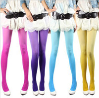 Pantyhose / Tights Women Lace Fashion gradient stockings knee-high shiny pantyhose silk socks tight 10 pair(mix order) a18