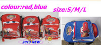 Boy baby boy rucksack - Retail Cute Kids children car Schoolbags Baby boy girl backpack knapsack Rucksack Bags S M L gift