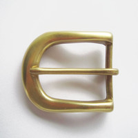 Wholesale 40mm Solid Brass Pin Buckle BS001 Pin Belt Buckle BUCKLE BS001 Brand New In Stock