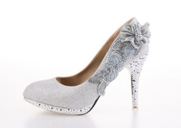 Wholesale Special Promotions Hot Sale Sexy Lady Women High Heel Shoes Wedding Shoes gold red silver