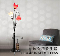 Wholesale Modern multifunction floor lamp with side table brief fashion floor lamp modern dinning lamp Classical office light corridor floor light