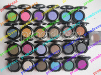 Wholesale fast shipping New MAKEUP colors single eye shadow g with english name free gift