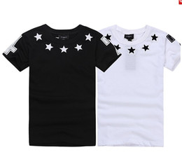 Wholesale Stars White T shirt Series Matching clothing men and women
