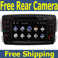 Wholesale Car DVD Player for Mercedes Benz C Class W203 Head Unit Sat Nav with GPS Navigation Radio TV Stereo