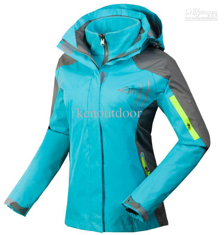 Wholesale - Snowboard Jacket Women Colorful Puzzle Snowboarding
