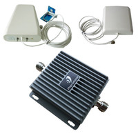 Wholesale GSM CDMA MHz G Mobile Cell Phone Signal Booster Repeater Amplifier high gain antennas
