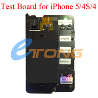 Wholesale LCD Display with Touch Screen Digitizer Tester Test Board for iPhone S AF691 in Test Frame