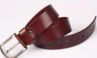 Wholesale 2013 fashion new style unisex geniune leather belt multi colors FEDEX Freeshipping AB3219