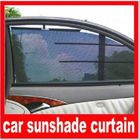 Wholesale 2pcs cmTyper auto lift car curtain side window sun shading automatic retractable stoopable