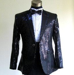 Wholesale men s suits The star sequins gown wedding suits modern wedding suits