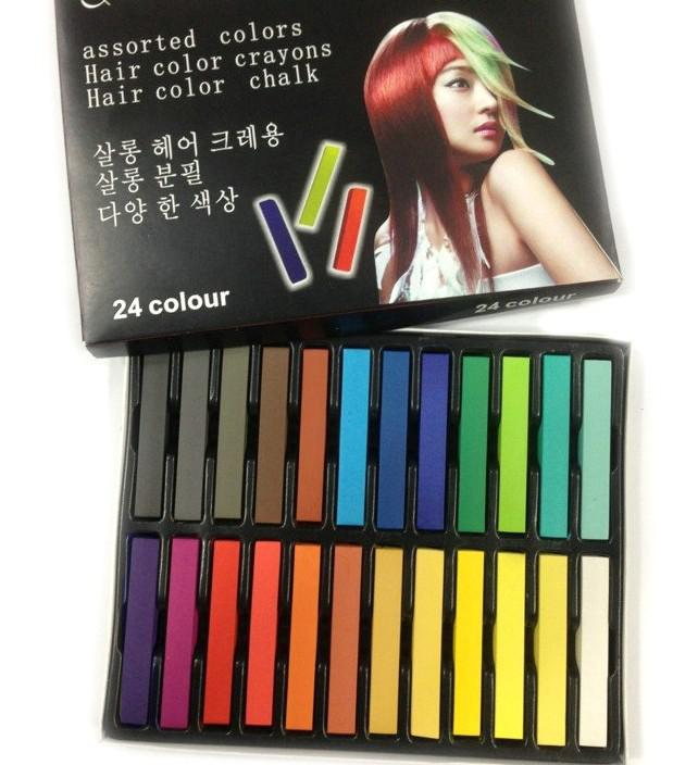 the most popular soft hair dye pen exports disposable hair stick temporary hair dye chalk of hair dye crayons hair color crayons hair color pen the - Hair Color Pen