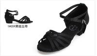 Wholesale 2013new Junior Latin soft bottom shoes women s latin shoes modern dance performance communication pair