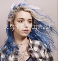 Chalk Temporary  24 color hair chalk coloring pens Hair Chalk hair dye stick