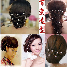 Wholesale 20pcs bride jewelry pressure hoop lace wide band headdress head hoop small white red hair fork styles Hair Accessories HW001