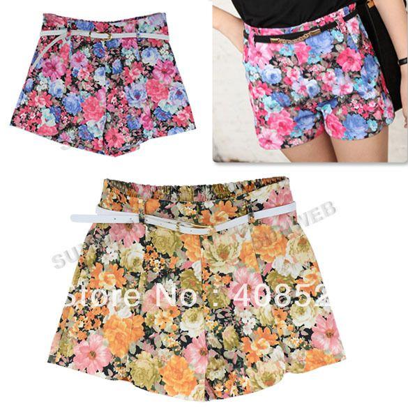 Foul Fashion Women's Shorts - Multi | IWOOT
