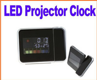 LED projector clocks LED projector clocks  Digital LCD Screen LED Projector Alarm Clock Weather Station Freeshipping