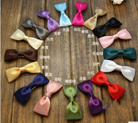 double ribbon - Multi color Grosgrain Bows with double prong clips covered hairpin Bows Baby Hair bow ribbon bows hairband Hair Clips