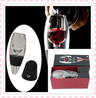 Wholesale Magic Decanter Red Wine Aerator Quick Wake Grapes Breathe Bar Tool Set Gifts