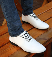 Wholesale south korea style Men casual Shoes Groom Wedding Shoes PU Leather Party Shoes