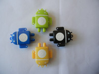 android robot accessories - Mini Android Robot MP3 Player With TF MicroSD Card Slot Colors No Accessories DHL