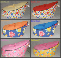 Kids Bean bag cover bean bag beds - Baby Bean Bag Children Sofa Chair Cover Soft Snuggle Bed with Harness Strap mix order